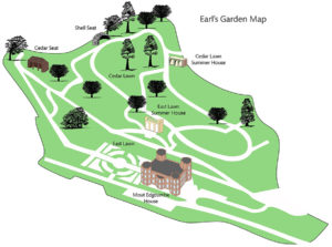Earls Garden Map