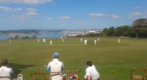 Cricket at Mount Edgcumbe