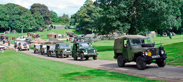 Mount Edgcumbe at War Event